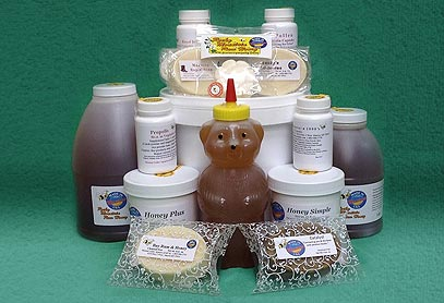 Royal Jelly Soap Natural Honey Propolis Products Made in Montana